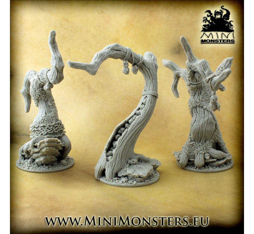 Mini Monsters Darkwood Forest - 3x - MM-0098