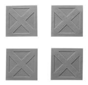 Mini Monsters Metal Platforms Set 1 - 4x - MM-0093