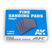AK interactive Fine Sanding Pads 400 grit - 4x - AK9018
