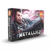 AK interactive Metallics Set - 6 colors - 17ml - AK11608