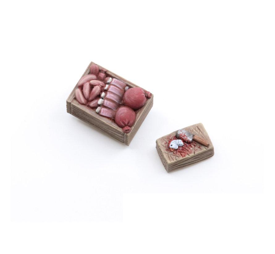 Tabletop-Art Meat Salesman Set 1 - 12x - TTA601100