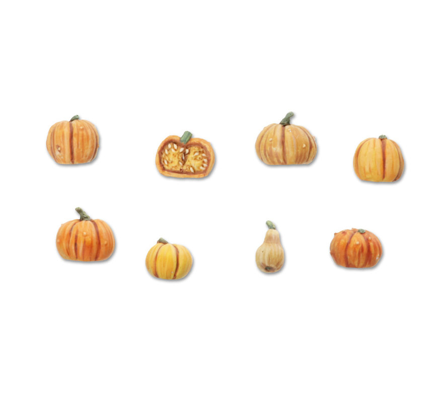 Tabletop-Art Pumpkins Set 1-8x - TTA601102