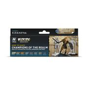 Vallejo Champions of the Realm - Wizkids Premium Paints - 8 kleuren - 8 ml - 80250