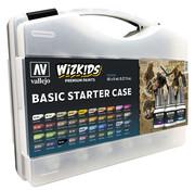 Vallejo Basic Starters Case - Wizkids Premium Paints - 40 kleuren - 8ml - 80260
