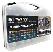 Vallejo Intermediate Case - Wizkids Premium Paints - 40 colors - 8ml - 80261