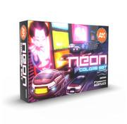 AK interactive Neon Colors Set - 6 kleuren - 17ml - AK11610