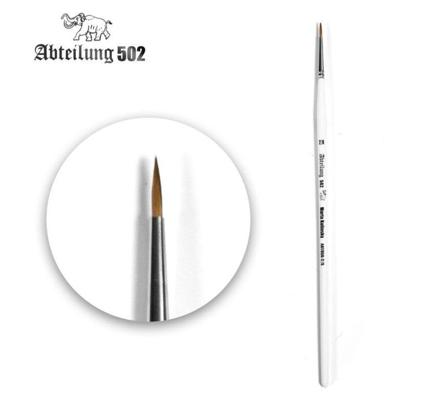 Abteilung 502 Deluxe Kolinsky Brushes Kit - 8x - ABT850
