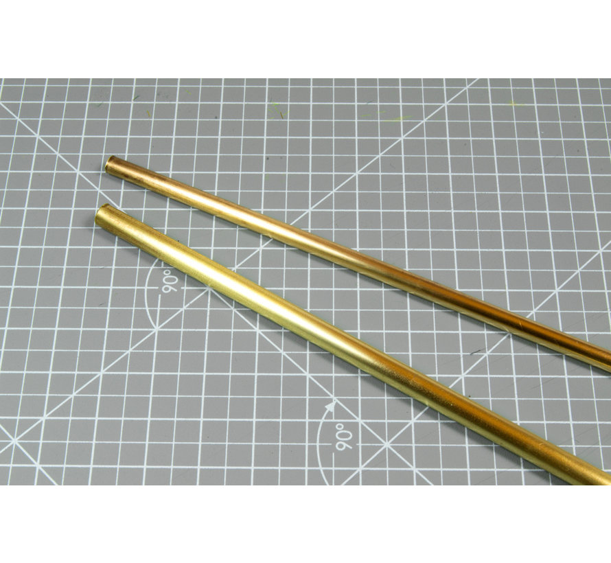 AK interactive Brass Pipes 1,2mm - 5x - AK9111 - 5x - AK9111