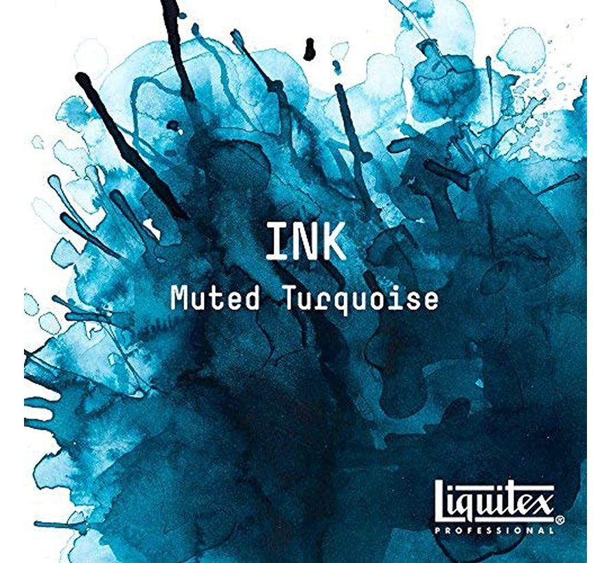 Liquitex Professional Acryl Ink! Muted Turquoise - 30ml - 503 - 4260503