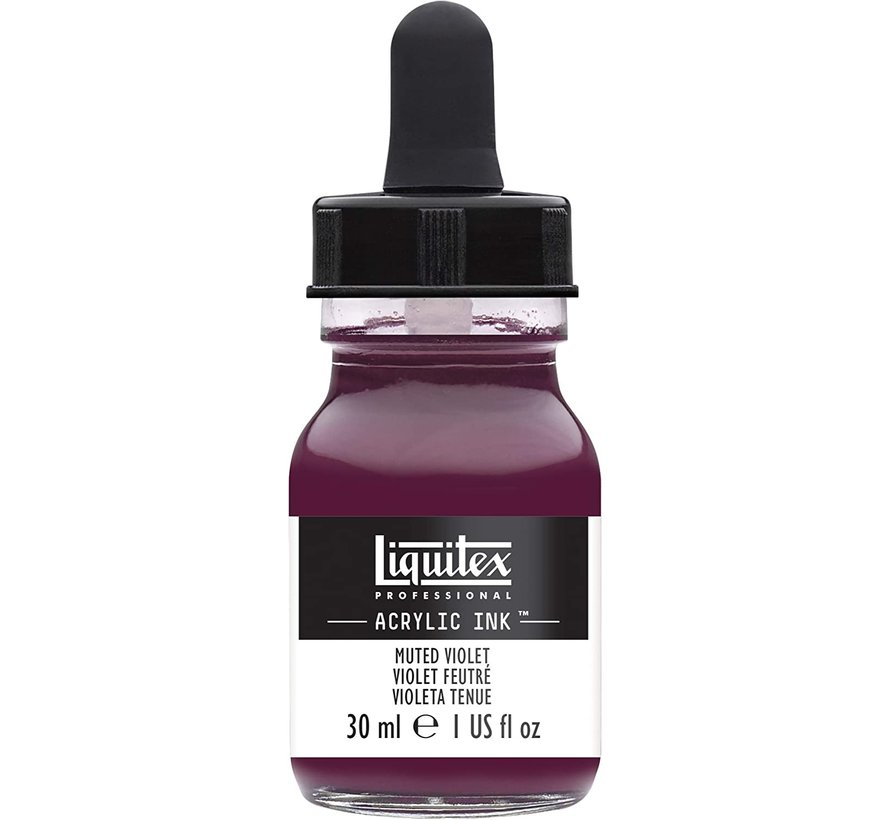 Liquitex Professional Acryl Ink! Muted Violet - 30ml - 502 - 4260502