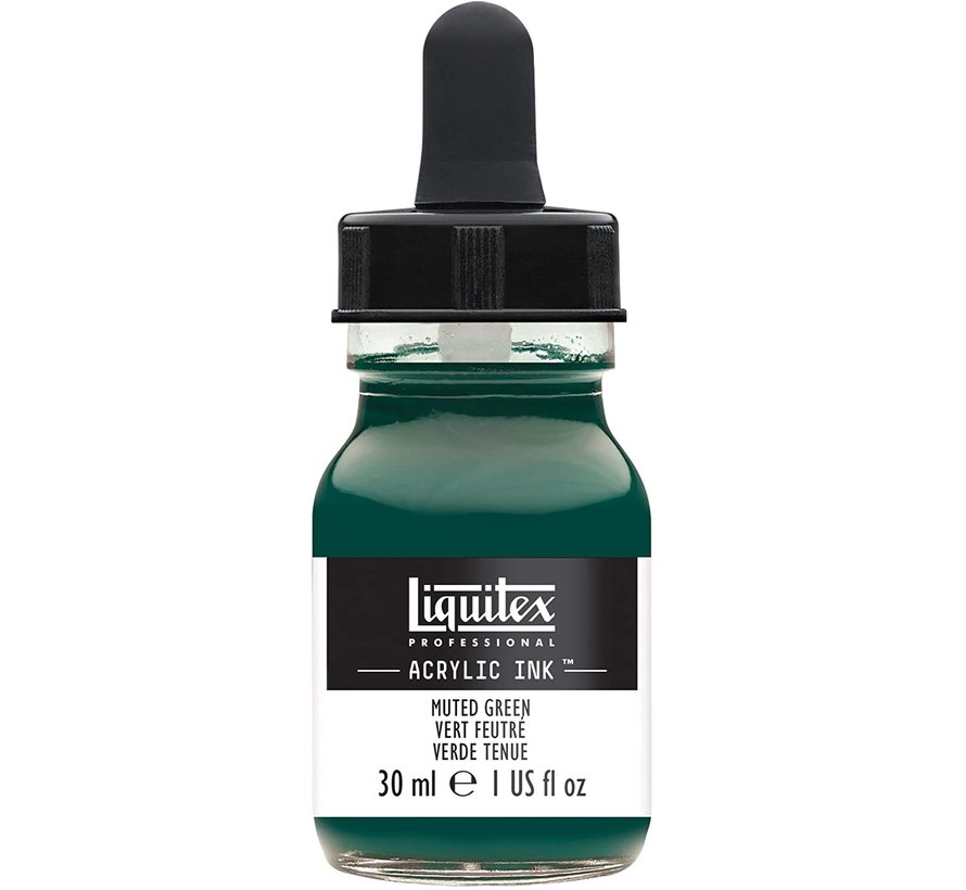 Liquitex Professional Acryl Ink! Muted Green - 30ml - 501 - 4260501