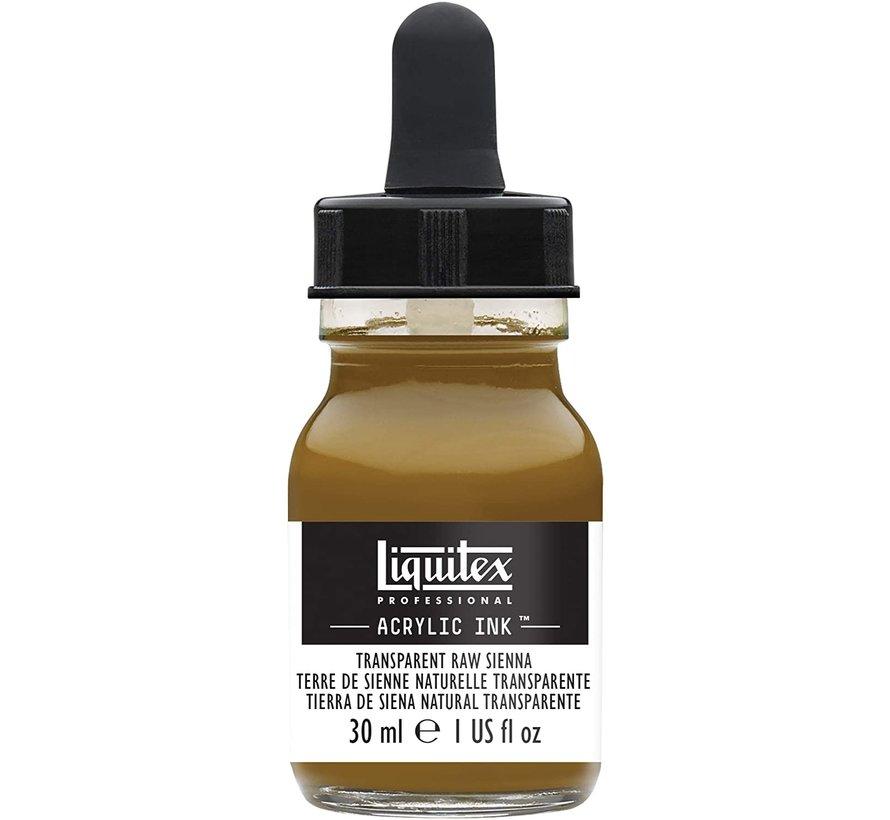 Liquitex Professional Acryl Ink! Transparent Raw Sienna - 30ml - 332 - 4260332