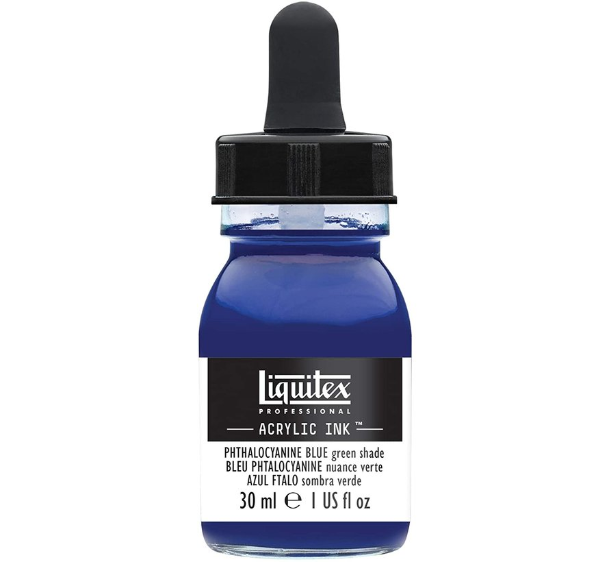 Liquitex Professional Acryl Ink! Phthalocyanine Blue Green Shade - 30ml - 316 - 4260316