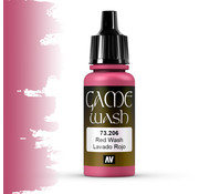 Vallejo Game Color Wash Red Wash - 17ml - 73206