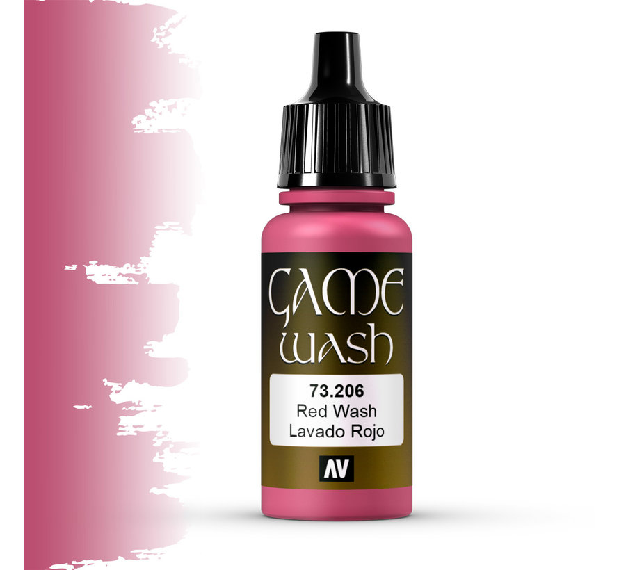 Game Color Wash Red Wash - 17ml - 73206