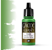 Vallejo Game Color Wash Green Wash - 17ml - 73205