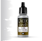 Vallejo Game Color Wash Pale Grey - 17ml - 73202