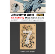 Liang Salt Weathering Effects Intensive Airbrush Stencils - LIANG-0007