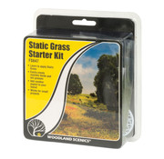 Woodland Scenics Static Grass Starter Kit - FS647