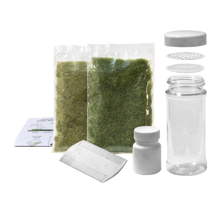Woodland Scenics Static Grass Starter Kit - FS647