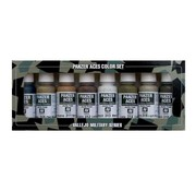 Vallejo Model Color Panzer Aces No2 - Wood, leather, stencil - 8 kleuren - 17ml - 70123