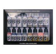Vallejo Model Air Metallic Effects - 16 kleuren - 17ml - 71181