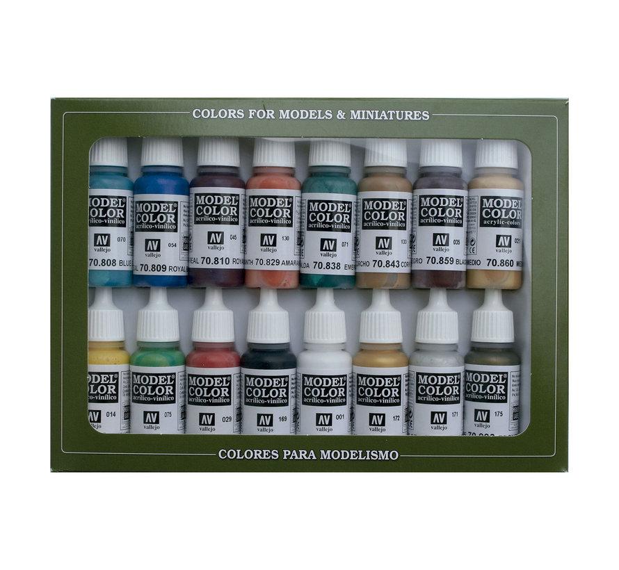 Model Color Set Medieval Colors - 16 kleuren - 17ml - 70142
