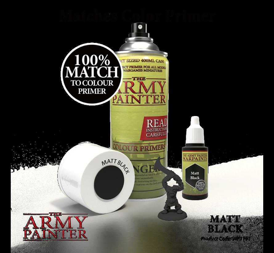 The Army Painter Matt Black - Warpaint - 18ml - WP1101