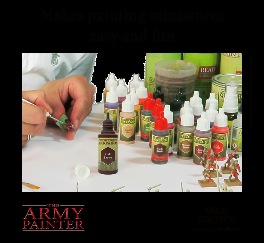 The Army Painter Oak Brown - Warpaint - 18ml - WP1124