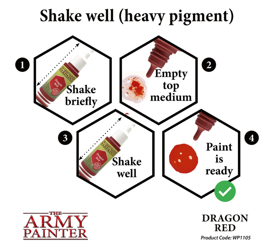 The Army Painter Dragon Red - Warpaint - 18ml - WP1105