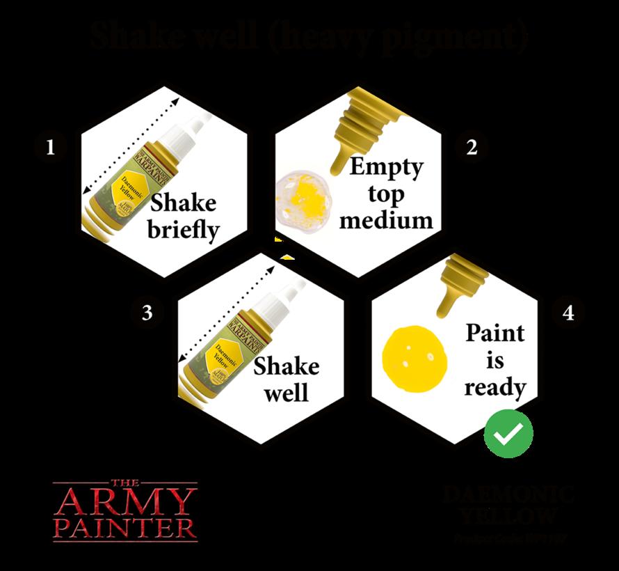 The Army Painter Daemonic Yellow - Warpaint - 18ml - WP1107