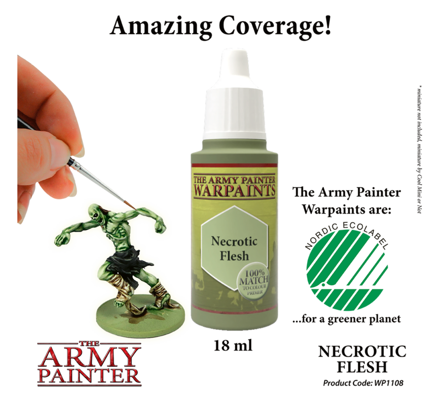 The Army Painter Necrotic Flesh - Warpaint - 18ml - WP1108