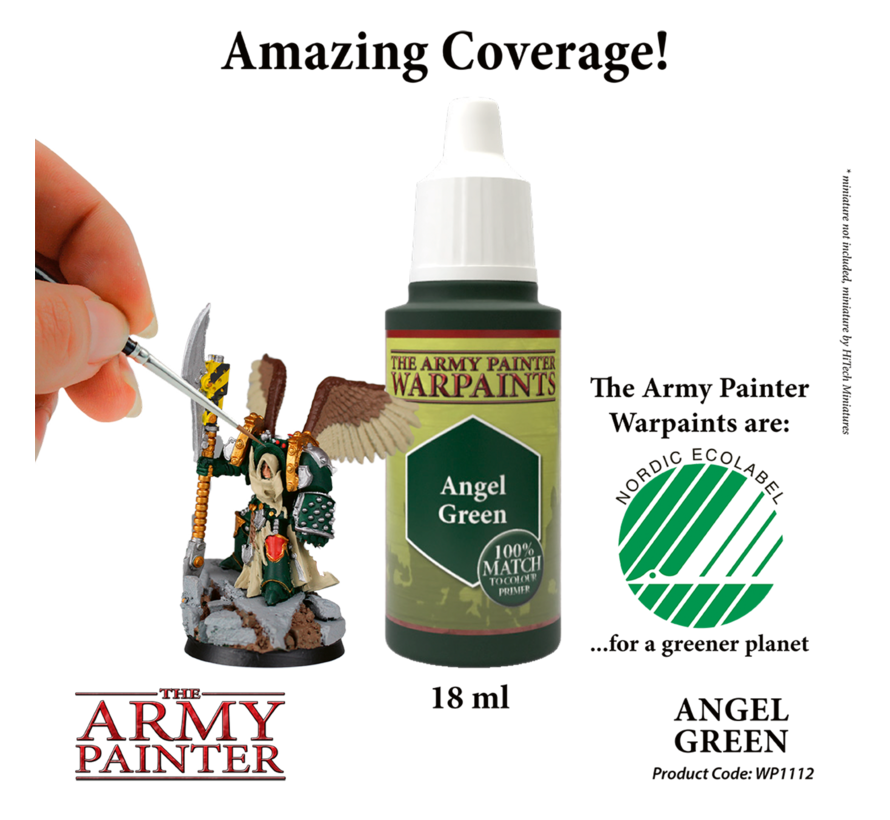 The Army Painter Angel Green - Warpaint - 18ml - WP1112