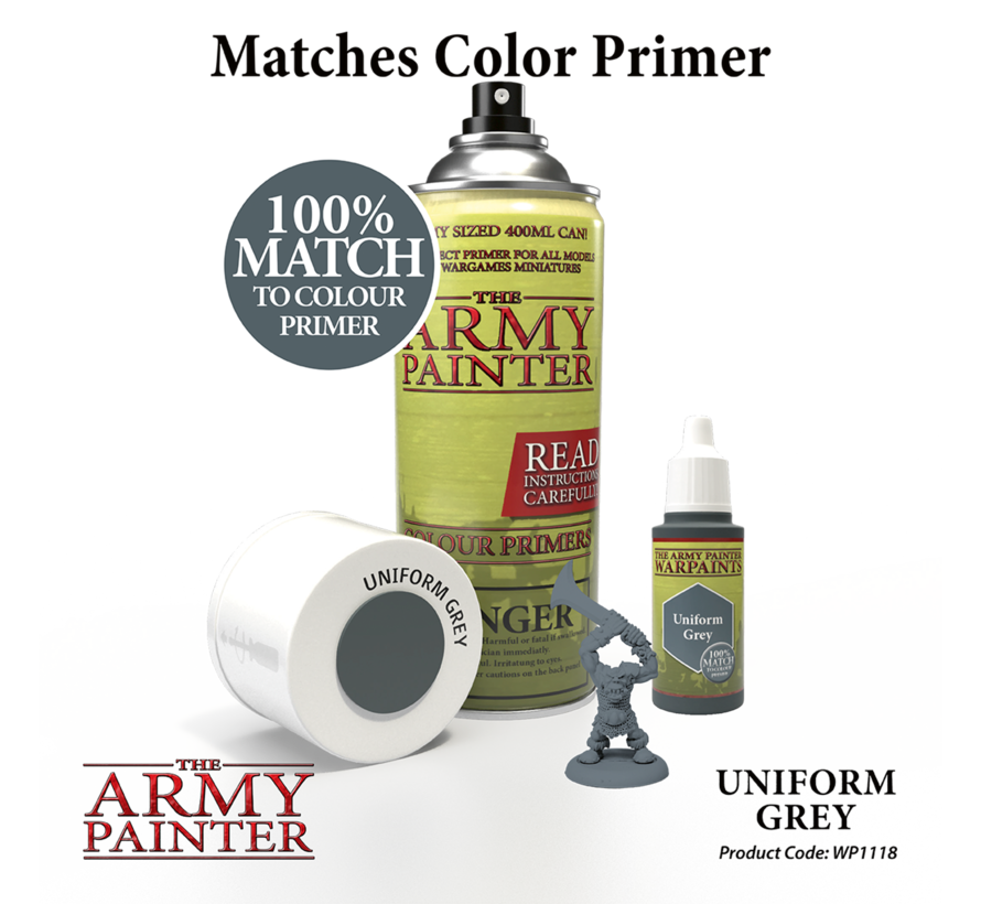 The Army Painter Uniform Grey - Warpaint - 18ml - WP1118