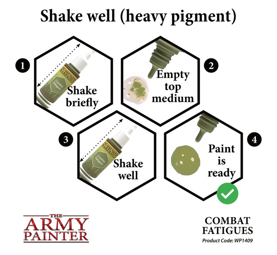The Army Painter Combat Fatigues - Warpaint - 18ml - WP1409