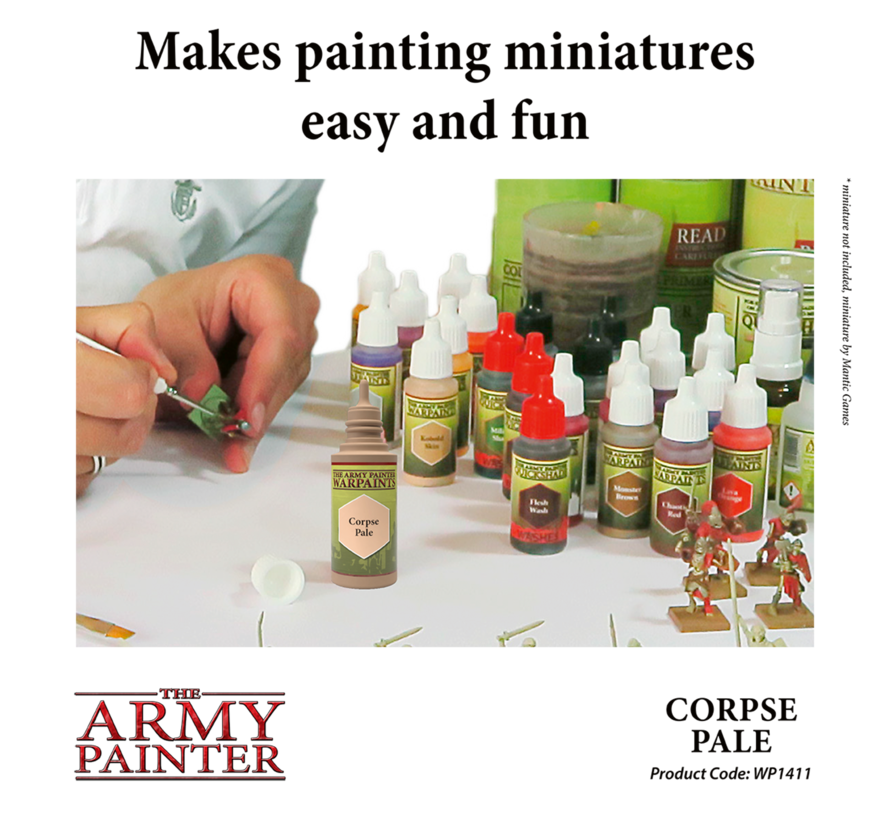 The Army Painter Corpse Pale - Warpaint - 18ml - WP1411
