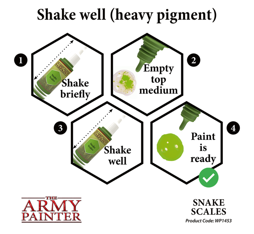 The Army Painter Snake Scales - Warpaint - 18ml - WP1453