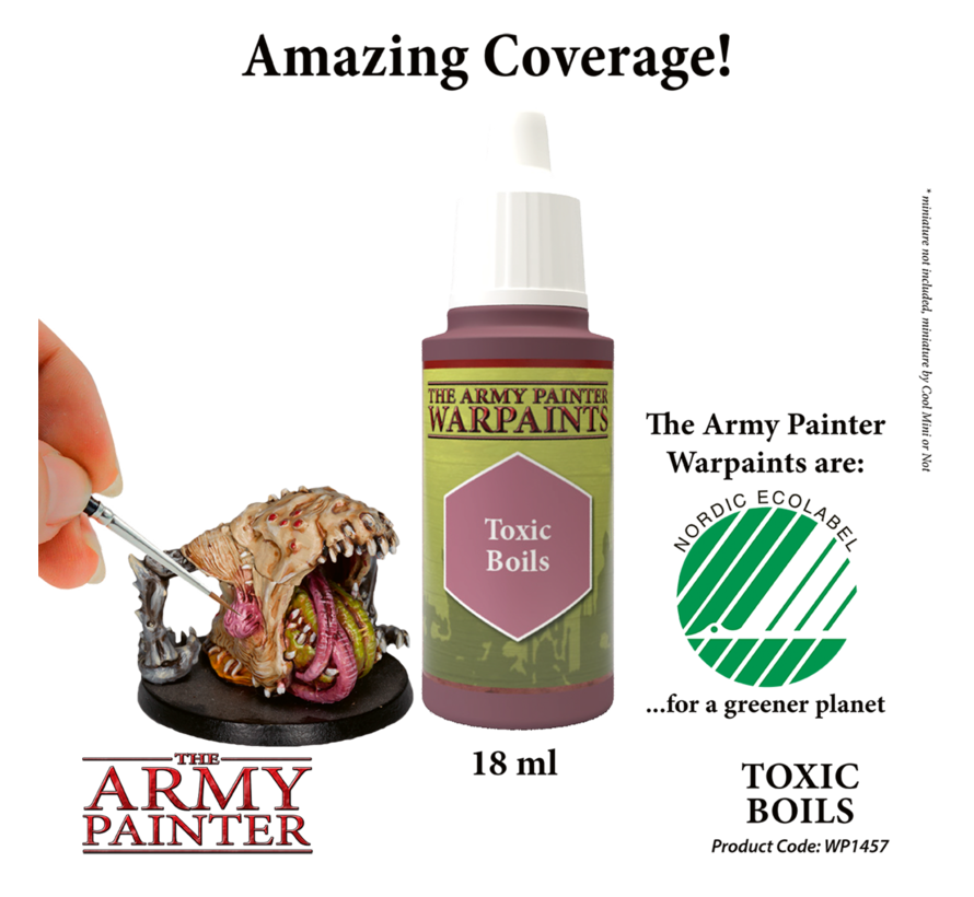 The Army Painter Toxic Boils - Warpaint - 18ml - WP1457