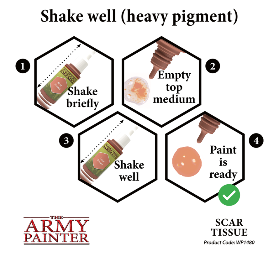 The Army Painter Scar Tissue - Warpaint - 18ml - WP1480