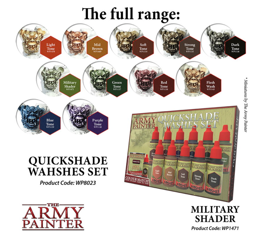 The Army Painter Military Shader - Warpaint - 18ml - WP1471