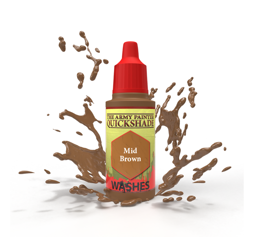 The Army Painter Mid Brown - Warpaint - 18ml - WP1469