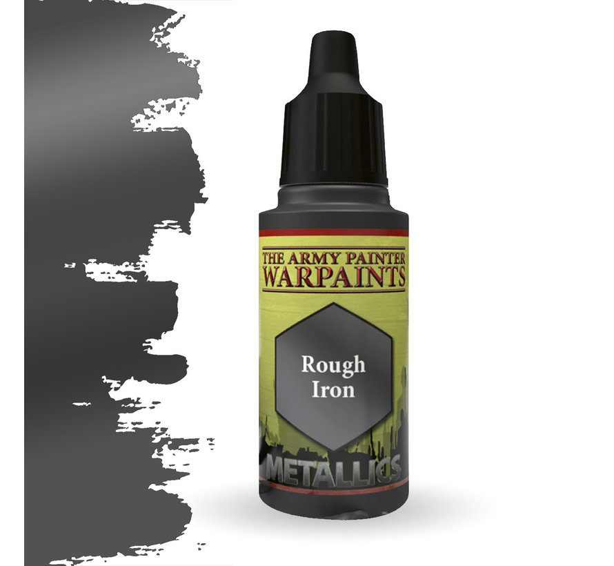 The Army Painter Rough Iron - Warpaint - 18ml - WP1468