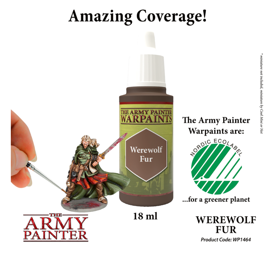 The Army Painter Werewolf Fur - Warpaint - 18ml - WP1464