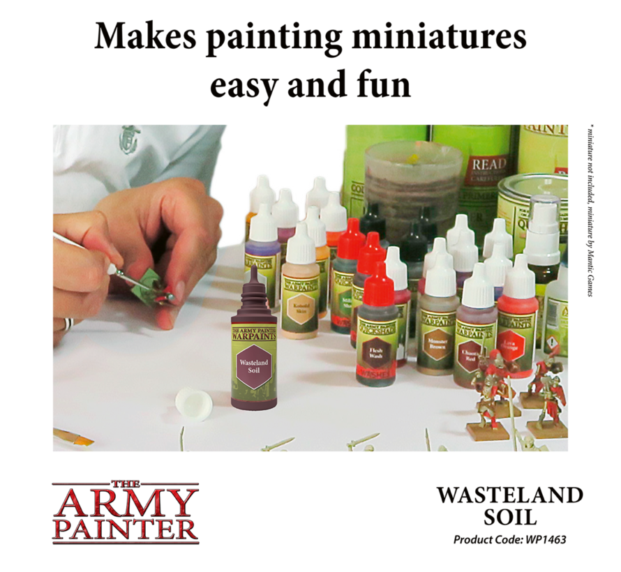 The Army Painter Wasteland Soil - Warpaint - 18ml - WP1463