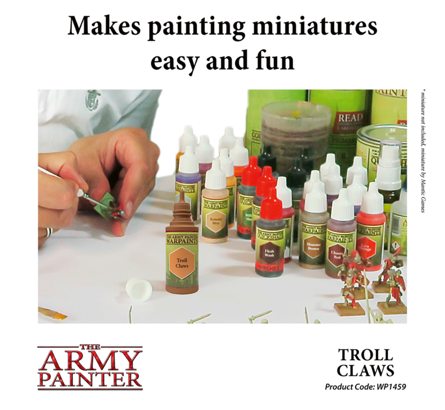 The Army Painter Troll Claws - Warpaint - 18ml - WP1459