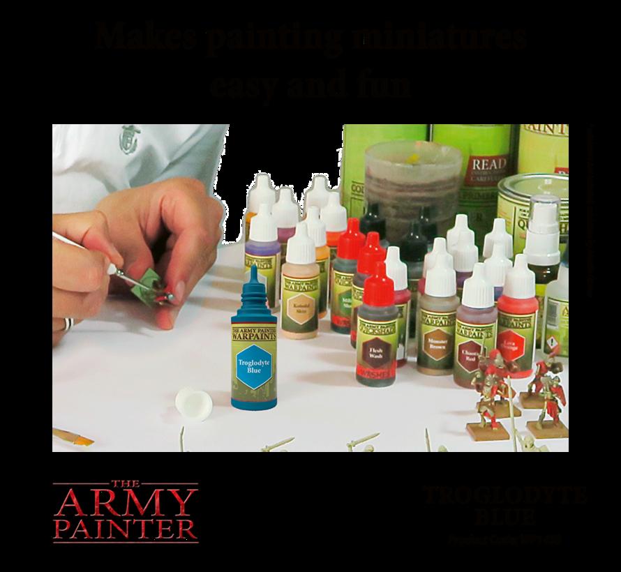 The Army Painter Troglodyte Blue - Warpaint - 18ml - WP1458