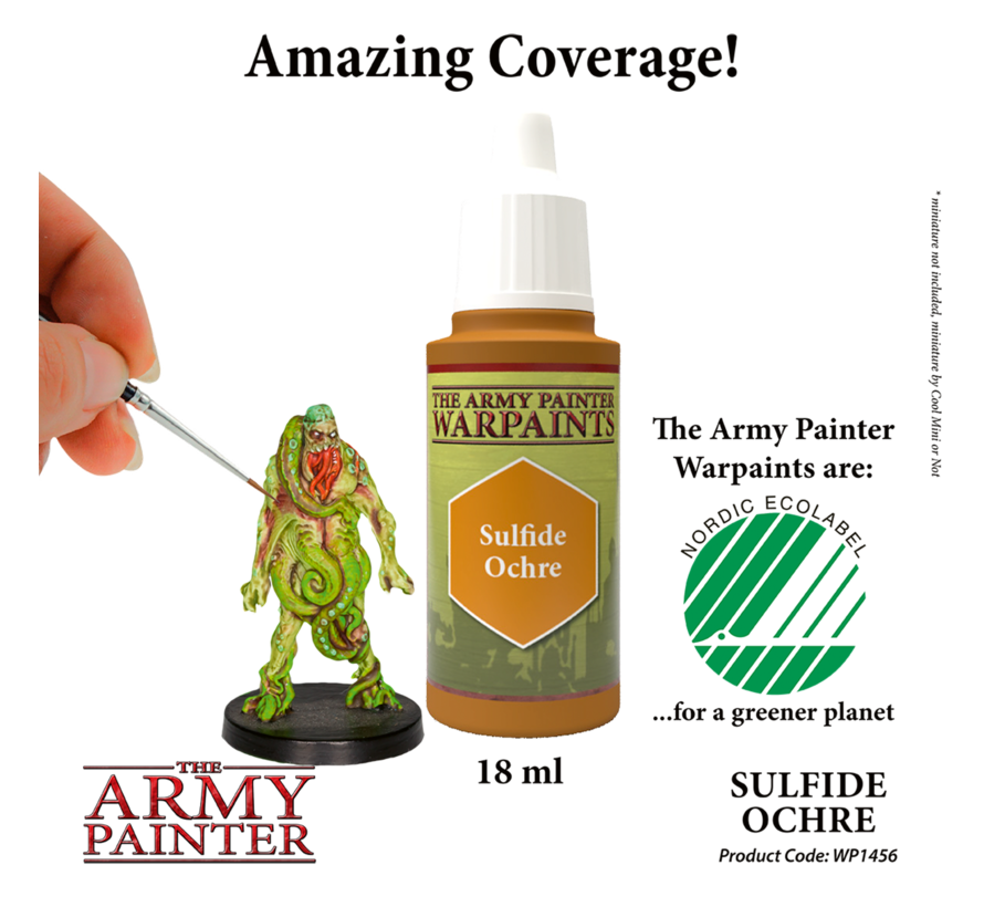 The Army Painter Sulfide Ochre - Warpaint - 18ml - WP1456