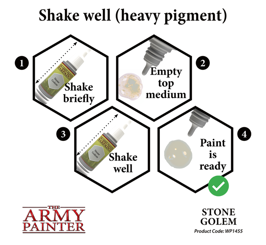 The Army Painter Stone Golem - Warpaint - 18ml - WP1455