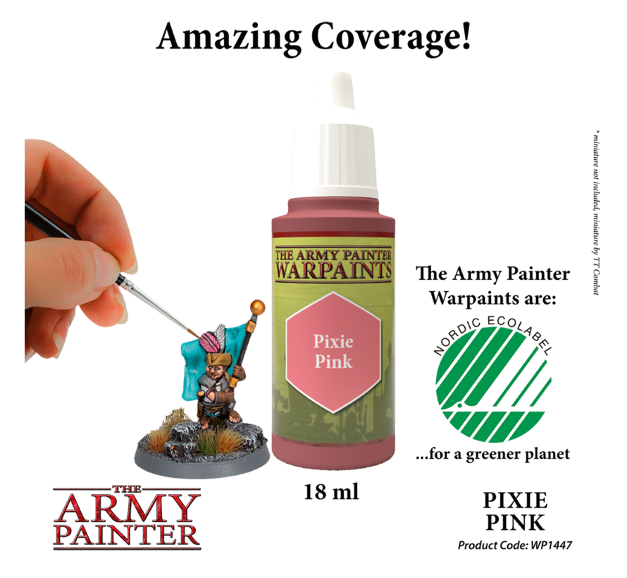 The Army Painter Pixie Pink - Warpaint - 18ml - WP1447