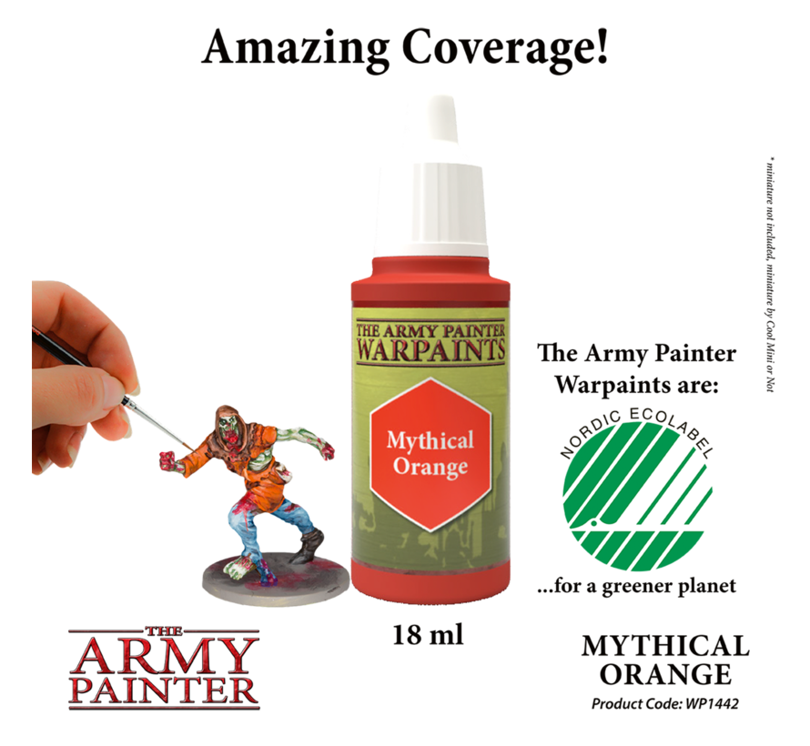 The Army Painter Mythical Orange - Warpaint - 18ml - WP1442
